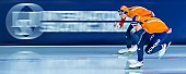 Motiv: Antoinette de Jong, Joy Beune; Tags: Antoinette de Jong, Athlet, Athlete, Sportler, Wettkämpfer, Sportsman, Damen, Ladies, Frau, Mesdames, Female, Women, Eisschnelllauf, Speed skating, Schaatsen, Joy Beune, NED, Netherlands, Niederlande, Holland, Dutch, Sport; PhotoID: 2021-02-11-0106