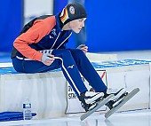 Subject: Anna Ostlender; Tags: Anna Ostlender, Athlet, Athlete, Sportler, Wettkämpfer, Sportsman, Damen, Ladies, Frau, Mesdames, Female, Women, Eisschnelllauf, Speed skating, Schaatsen, GER, Germany, Deutschland, Sport; PhotoID: 2021-02-12-2542