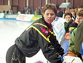 Subject: Franziska Schenk Sprint-Weltcup 1998 in Berlin; Tags: Sport, GER, Germany, Deutschland, Franziska Schenk, Eisschnelllauf, Speed skating, Schaatsen, Ehemalige, Damen, Ladies, Frau, Mesdames, Female, Women, Athlet, Athlete, Sportler, Wettkämpfer, Sportsman; PhotoID: 1998-01-24-029