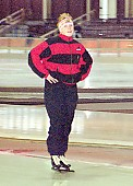 Tags: Sport, Martina Krüger, GER, Germany, Deutschland, Eisschnelllauf, Speed skating, Schaatsen, Ehemalige, Damen, Ladies, Frau, Mesdames, Female, Women, Athlet, Athlete, Sportler, Wettkämpfer, Sportsman; PhotoID: 1998-02-28-010