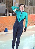 Subject: Anja Slabon; Tags: Sport, Privat, GER, Germany, Deutschland, Eisschnelllauf, Speed skating, Schaatsen, Ehemalige, Damen, Ladies, Frau, Mesdames, Female, Women, Athlet, Athlete, Sportler, Wettkämpfer, Sportsman, Anja Slabon; PhotoID: 1998-02-28-018